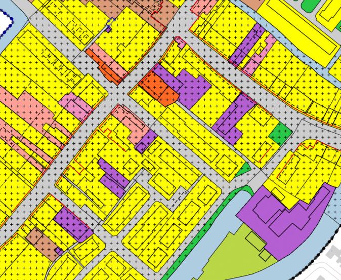 Het ontwikkelen van woningen op een bedrijfsbestemming